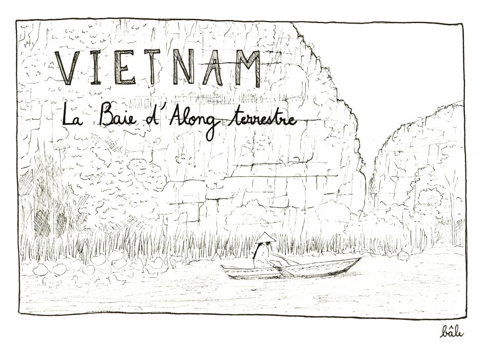 journal d 39 un pigeon voyageur carnet de voyage vietnamien par bale. Black Bedroom Furniture Sets. Home Design Ideas